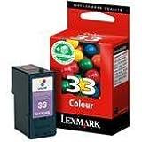 Lexmark Cartouche d'encre d'origine 33 1 x couleur (cyan, magenta, jaune)
