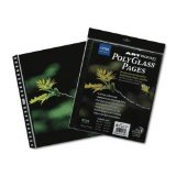 Art Profolio 17 x 22 In. Crystal Clear PolyGlass Pages (10 Sheets)