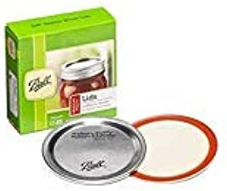 product image for Ball Regular Mouth Canning Mason Jar Lids 12-Pieces Pack of 2