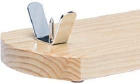 Jamonero profesional modelo Rioja Madera Natural de pino, soporte jamonero ideal para cocina doméstica y profesional, incluye regalo cuchillo, chaira y cubrejamón Bricomiras (Natural, Jamonero)