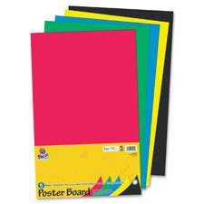 PAC5444 - Pacon Half-Size Sheet Poster Board