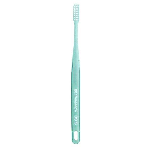 まろやかなクランプレガシーライオン スリムヘッド2 歯ブラシ DENT . EX Slimhead2 1本 33S クリアグリーン