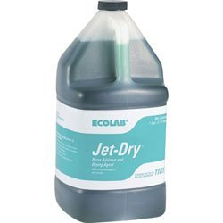 Ecolab 11817 Jet Dry, Industrial-Strength JetDry Rinse Aid, Protects Your Image & Dramatically Speeds Drying (4gl) by Ecolab