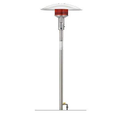 (Permanent Natural Gas Patio Heater Finish: Stainless Steel, Series:
