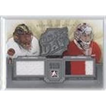 Malcolm Subban; Daniel Altshuller #/100 (Hockey Card) 2012-13 In the Game Between the Pipes - Draft Day - Silver #DD-01
