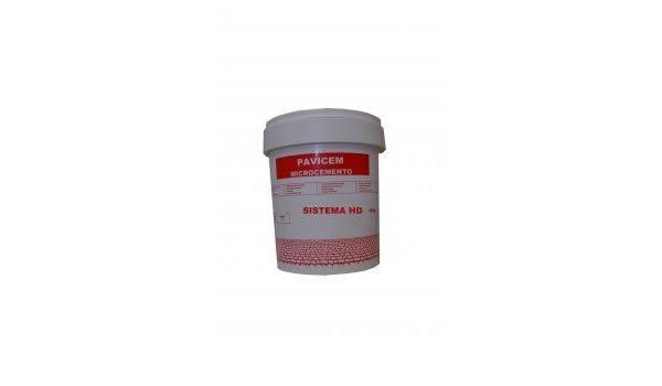 PAVISTAMP - Microcemento Pavicem Fino Hd - Negro, 5 Kg ...