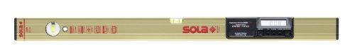 Professional Aluminum Box Tool (Sola Magnetic Aluminum Box Level with Digital Electronic Inclinometer w/ Carry Bag - ENWM 60 T)