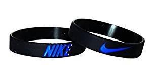 new concept 6d2bc 4fe67 Amazon.com Nike NK2 Baller Band Silicone Rubber Basketball Baseball  Football Running Wristband Bracelet ...