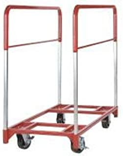 "product image for Raymond Products 48""L x 24""W x 43-1/2""H Red Table Mover, 1600 lb. Load Capacity - 3771"