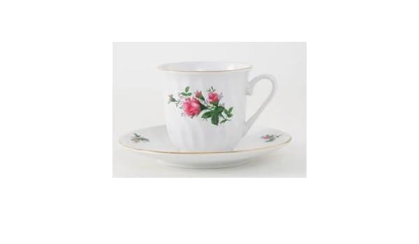Amazoncom 48 Vintage Rose Bulk Discount Porcelain Tea Cups And