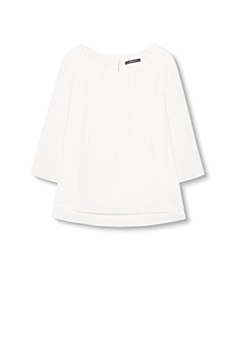 Blanc ESPRIT Blouse White Off Femme Collection tcWtf6FUyr
