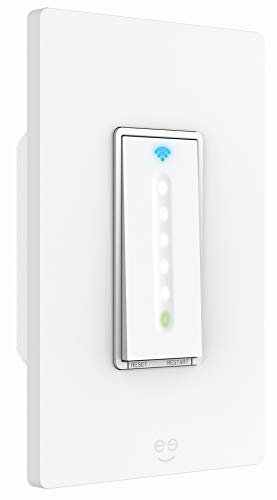 Geeni Smart Dimmer Switch -15A Smart WiFi Light Switch with Remote Control  and Timer, Works with Alexa, Google Home and Cortana No Hub Required, Easy