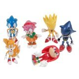 Sonic the Hedgehog Action Figure (6pcs-Set) [Toy]