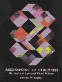 Assessment of Children, Sattler, Jerome M., 0961820926