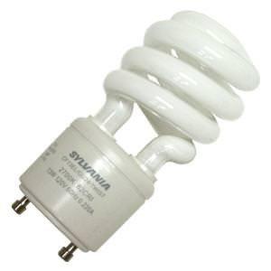 Sylvania 28957 - CF13EL/GU24/827 Twist Style Twist and Lock Base Compact Fluorescent Light (Gu24 Twist Style Twist)