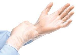 Powder-Free Vinyl Exam Gloves - Large - Case of 1000