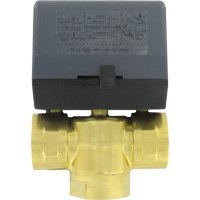 W.E. Anderson 3ZV20414, Floating, 3-way zone valve, 1'' NPT, 24 VAC.