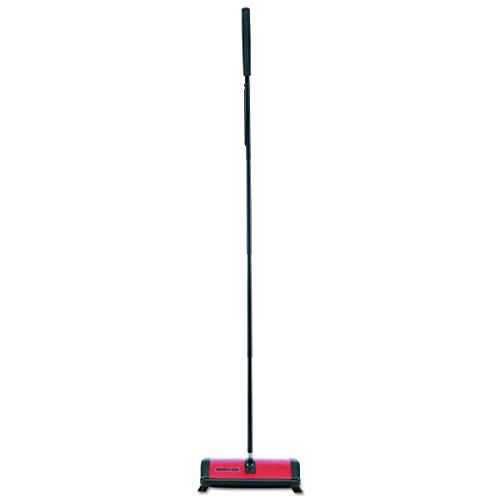 (Oreck 23T Commercial Restauranteur Sweeper, Red, 9 1/2w x 8d x 43 1/2h)