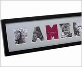 Family cut out letters photo frame amazon kitchen home family cut out letters photo frame spiritdancerdesigns Gallery
