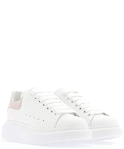 bianca 553770whgp79182 Alexander Mcqueen Woman pelle Sneakers in Unqn16w0z
