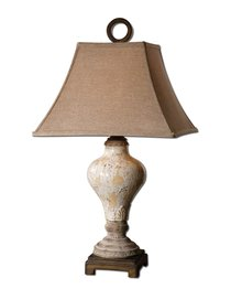 Fobello 1 Light Table Lamp (Table Lamp Linen Uttermost Square)