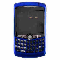 Housing (Complete) for BlackBerry 8300, 8310, 8320 Curve (Dark Blue)