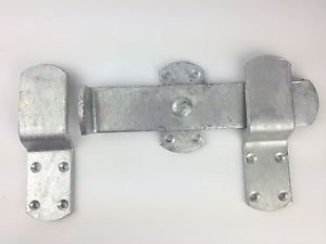 Wyre Direct Heavy Duty Kickover Latch Stable Door Lock Kick Strap Gate Galvanised