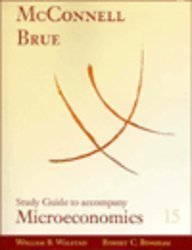 Study Guide for use with Microeconomics