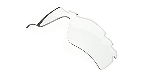 Oakley Men's Radar Path Edge Sunglasses,Multi Frame/Clear Lens,One - Radar Clear Oakley