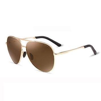 YXCCHZS Gafas De Sol De Piloto Polarizadas para Hombre De ...