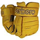 VERBERO Cypress 4-Roll Hockey Gloves (13 inch, Vintage Brown)