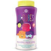 Solgar U-Cubes Children's Multi-Vitamin and Mineral Gummies, 60 Gummies (Pack of 4) by Solgar