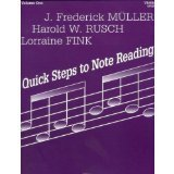 Note Reading Book (Fink/Muller/Rusch - Quick Steps To Note Reading, Book 1 - Violin - Neil A Kjos Music Co)