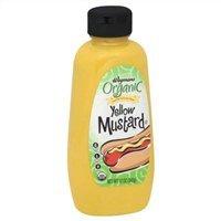 Wegmans Organic Mustard, Yellow, 12oz (Pack of 4)