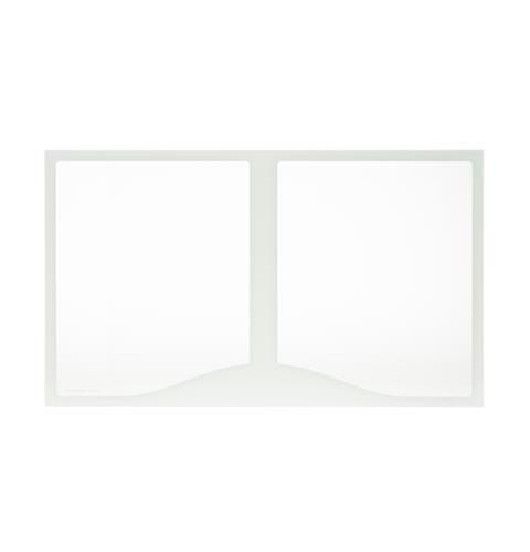 General Electric WR32X10589 Glass Crisper Cover Refrigerator Glass Crisper Shelf
