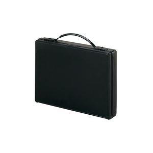 (業務用2セット)LIHITLAB アタッシュバッグ A661-24 A4 黒 生活用品 インテリア 雑貨 文具 オフィス用品 ファイル バインダー クリアケース クリアファイル 14067381 [並行輸入品] B07L7FXVTB