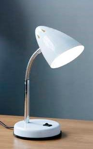 White table lamp desk lamp table lamp study lamp office lamp white table lamp desk lamp table lamp study lamp office lamp aloadofball Choice Image