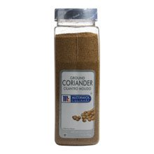 McCormick Ground Coriander - 14 oz. container, 6 per case
