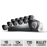 Samsung SDS-P5122 16 Channel All-in-one DVR Security System For Sale