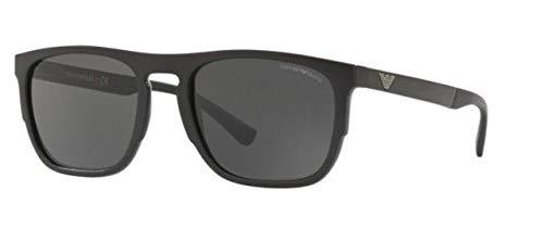 Emporio Armani 0EA4114, Gafas de Sol para Hombre, Black, 55 ...