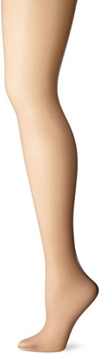 Just My Size Women's Run Resistant Control Top Panty Hose, Nude, (Pantyhose Sizes)