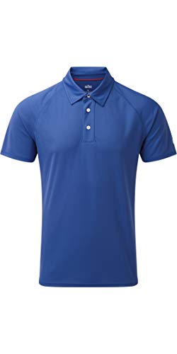 GILL Mens UV Tec Polo 2019 - Blue L