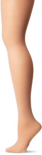 Capezio Nylon Tights (Capezio Women's Hold & Stretch Transition Tight,Light Suntan,Small)