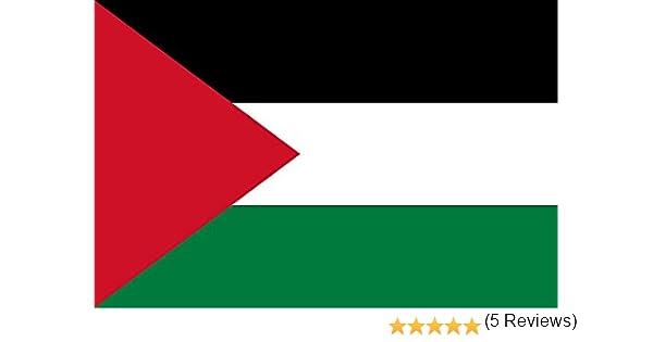 Gran Bandera de Palestina 150 x 90 cm Satén Flag of Palestine.: Amazon.es: Deportes y aire libre