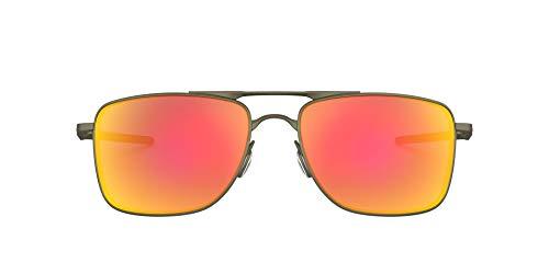 Oakley Men's Oo4124 Gauge 8 Metal Sunglasses