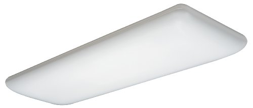 Lithonia Lighting 10642RE Four Foot Four Lamp T8 Fluorescent Litepuff, White Lighting Fluorescent Lamp