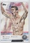 Michael Phelps (Trading Card) 2012 Topps U.S. Olympic Team and Olympic Hopefuls - [Base] - Silver #100