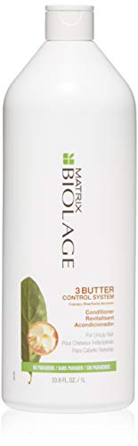 Biolage 3Butter Control System Conditioner For Unruly Hair, 33.8 Fl. Oz.