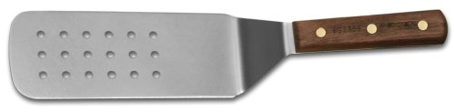 - HIC Harold Import Co. 60110 Stainless Steel Dexter-Russell Perforated Burger Turner, 8-by-3