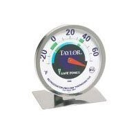 Tru Temp Refrigerator-Freezer Thermometer (6 Pack) by taylor
